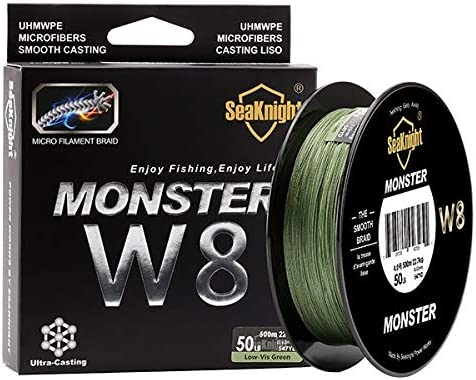 Seaknight W8 Braided Fishing Line 500m Fishi Super-cheap Carp All stores are sold 8 Strands Wire