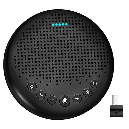 eMeet Luna スピーカーフォン 会議用マイクスピーカー Bluetooth対応 Skype Zoom など対応 ノイズキャンセ...