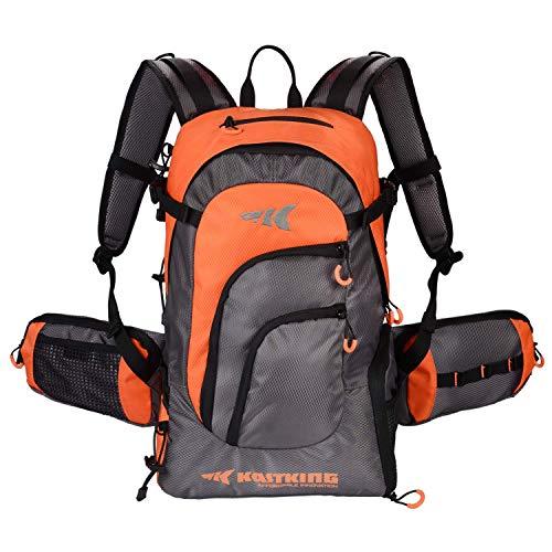 KastKing Day Tripper Fishing Backpack Tackle Bags, Fishing Gear Bag, Large Waterproof Fishing Tackle Storage Bags, Orange,...