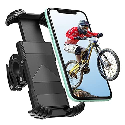 Handyhalterung Fahrrad, Tendak Handyhalter Motorrad - Universal 360 Drehung Outdoor Fahrrad Halter für iPhone 12 Mini, 12 Pro Max, 11 Pro Max, Xs Max, X, XR, 8, 7, 6S, Samsung S10 S9 S8, Smartphones