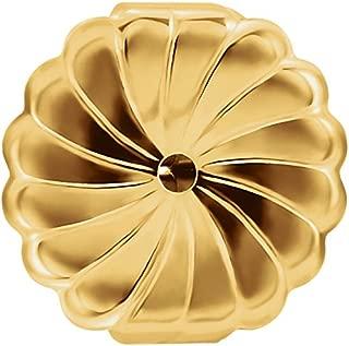 14K Gold Ear Locking Earring Backs 2 Parts