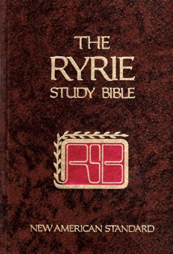 Compare Textbook Prices for Ryrie Study Bible NEW AMERICAN STANDARD  ISBN 9780802474254 by Charles Caldwell Ryrie