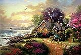 194Tdfc Adultos Puzzles 1000 Piezas Rompecabezas Clásico Diy Kit De Juguete De Madera Decoración Para El Hogar Regalo De Cumpleaños/Jardín De Los Sueños