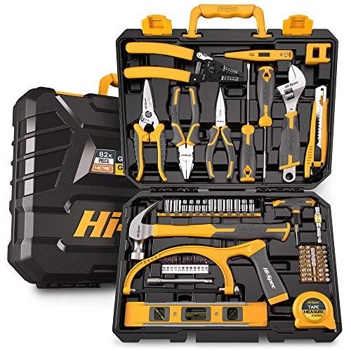 Hi-Spec 75-teiliges Heim & Werkstatt-Werkzeugsatz. Set mit Reparatur & Wartungswerkzeugen für Haushalt, Büro &Werkstatt in einem Aufbewahrungskoffer