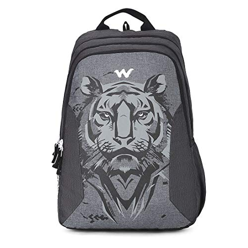 Wildcraft 44 Ltrs Blaze 3 Tiger Black Casual Backpack (12274_Tiger_Black)(HxWxD : 19x13.5x10.5)(inches)