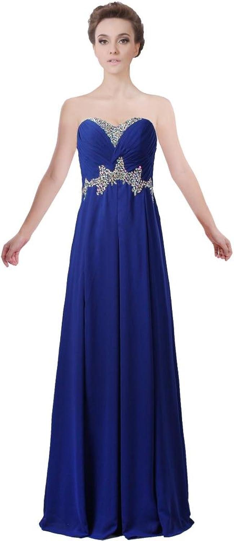 ANTS Women's Charming Strapless Prom Dress 2017 Sheath Evening Dresses