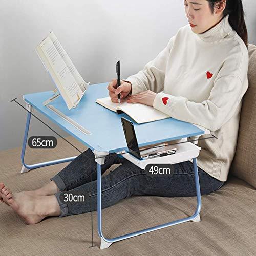 Escritorio de computadora Mesa de cama pequeña, mesa para computadora portátil, escritorio para estudiantes universitarios, mesa para sentarse en el dormitorio, dormitorio, dormitorio, mesa de cama,