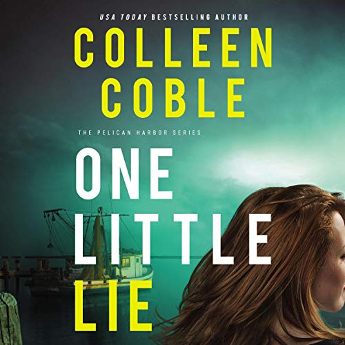 One Little Lie audiobook cover art