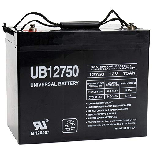 Universal Power Group 45822 Sealed Lead Acid Battery