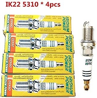 4 New DENSO Iridium Spark Plugs IK22 # 5310