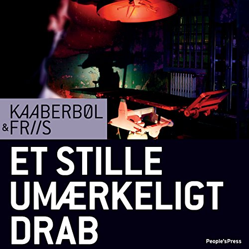 Et stille umærkeligt drab [Quiet, Imperceptible Killings] audiobook cover art