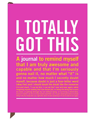 Knock Knock I Totally Got This Inner-Truth Journal (Large, 7 x 9.5-inches) Photo #7