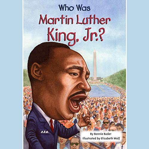 『Who Was Martin Luther King, Jr.?』のカバーアート