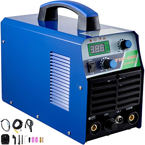Mophorn Tig Welder 200 Amp Tig Stick Welder 110V 220V Dual Voltage Portable Tig Welding Machine TIG ARC MMA Stick IGBT DC Inverter Welder Combo Welding Machine