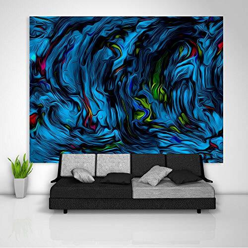 WAXB Tapiz Decoración Colorida Abstracta del Lecho De La Tabla del Sofá del Colgante De Pared del Arte para El Hogar Decoración De Dormitorio 70.8 X 90.5 Pulgadas (180 X 230 Cm)