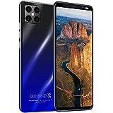 ZZYH Smartphone 4G Dual SIM, 4GB RAM+64GB Almacenamiento, 5.5'' FHD+ Pantalla Full View, Cámara Frontal 8MP+Cámara Trasera 16MP, Batería Grande 4800mAh, Android 9.1, Face ID