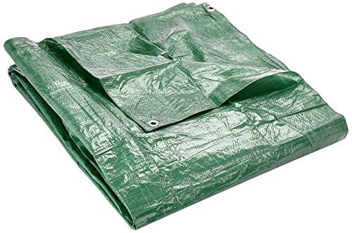 Verdemax 469490G/m² 4x 5m Lona Impermeable con Ojales–Verde