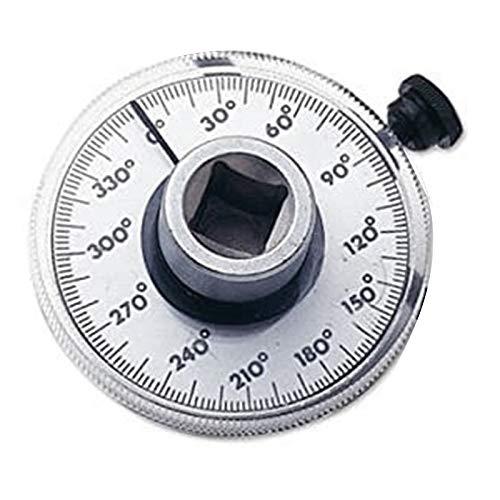 Heritan 1/2 pulgada de la llave del indicador de par de la llave del medidor de ángulo del instrumento de medición del esfuerzo de torsión