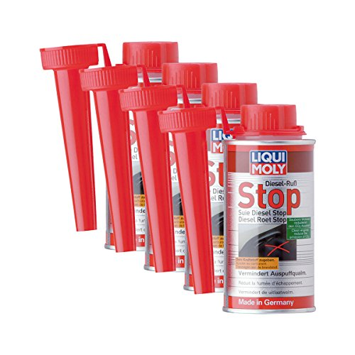Liqui Moly - 4 x 5180 Diesel - Aditivo de combustible (DPF, 150 ml)