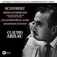 Schubert: Moments Musicaux, Klavierst眉cke, Wanderer (2CD) by Claudio Arrau