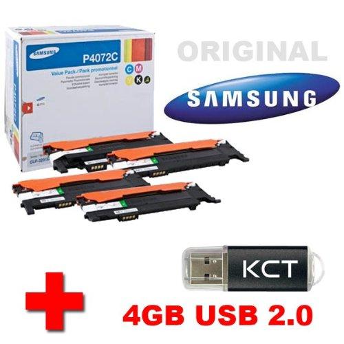 Samsung CLP 325 Original Tonerkit CLT-P4072C (CLT-P4072C/ELS)