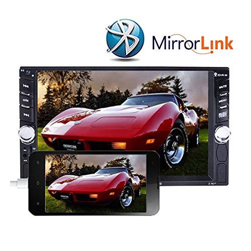 ZHUHAI HONGKANG DONGMAO TRADING CO LTD Audio de Voiture 2 Din HD 6.6''Touch Lecteur Audio à écran Bluetooth Stéréo Audio de Voiture 7652D
