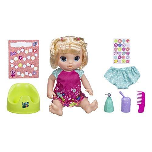 Boneca Baby Alive Bebê Passos e Sorrisos Morena E5248 Hasbro Marrom/Rosa/Azul