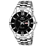 Dial Color: Black; Dial Material: Alloy Dial Shape: Round; Strap Color: Silver Strap Material: Stainless Steel; Watch Movement Type: Quartz Model number: VL-1051 Warranty Type: 1 Year Warranty Against All Manufacturing Defects.