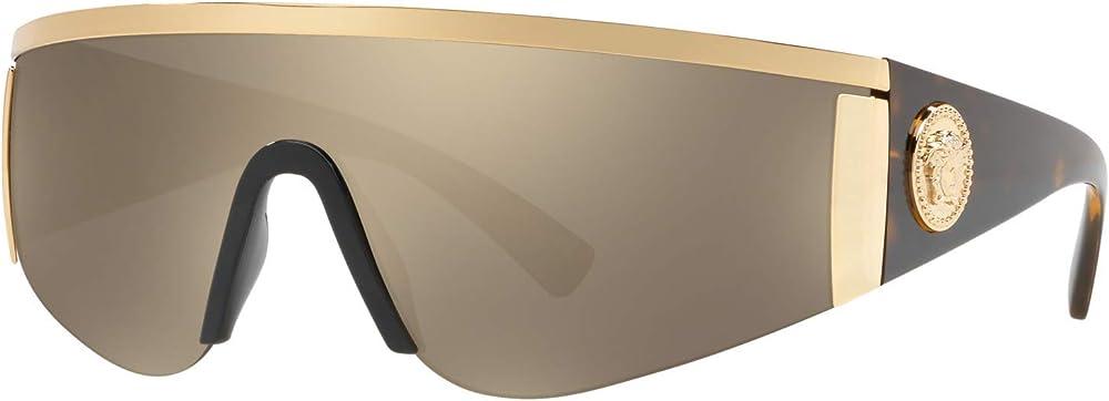 Versace occhiali da sole unisex 0VE2197-10005A