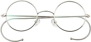 Retro Round Optical Rare Wire Rim Glasses Frame