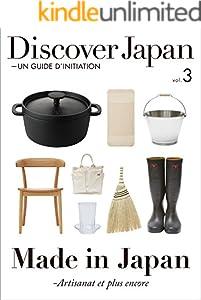 仏語版 Discover Japan 3巻 表紙画像