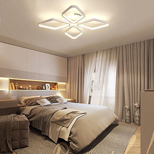 5151BuyWorld lamp met geleid plafond Moderne lampen, de plafon voor vierkante plafondlampen, binnenverlichting voor woonkamer, slaapkamer, topkwaliteit