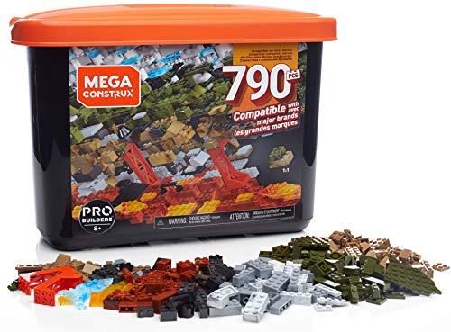 Mega Construx Caja PRO de 790 piezas y bloques de construcción para niños +8 años (Mattel GJD26) , color/modelo surtido