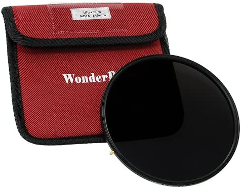 Fotodiox Pro 145mm Neutral Density 4 (2-Stop) Filter - Pro1 Multi-Coated ND4 Filter (Works with WonderPana 145 & 66 Systems)