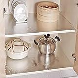KINLO 0.61 x 5 m Aluminium Folie Aufkleber Küchen Selbstklebende Küchenfolie Hitzebeständig Tapete Öl-Resistent Wasserdicht Anti-Schimmel DIY Möbel Folie für Küchen, Schrank, Möbel, Tische Typ-C - 4