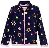 Amazon Essentials Polar Fleece Full-Zip Mock Jackets Outerwear, Estrellas Múltiples Azul Marino, XL
