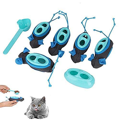 Kat Krabben Muis Gevormd Speelgoed Hond & Katten Interactieve Langzame Feeding Hond Voedsel Dispenser Indoor Jacht Feeder Set voor Katten Honden Huisdieren Nieuwigheid Gift
