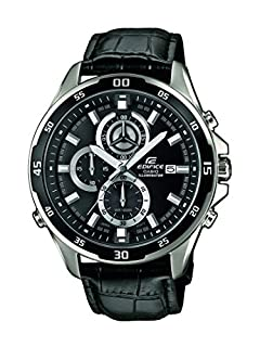 Casio Reloj Analogico para Hombre de Cuarzo con Correa en Cuero EFR-547L-1AVUEF (B00SSX2HQ6) | Amazon price tracker / tracking, Amazon price history charts, Amazon price watches, Amazon price drop alerts