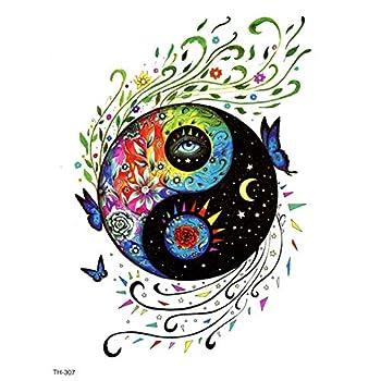 yin yang tatuaje
