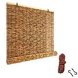 WXZX Persianas De Bambu Exterior De Caña, Respirable Estore
