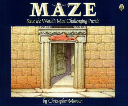 Maze: A Riddle in Words and Pictures: Solve the World's Most Challenging Puzzle