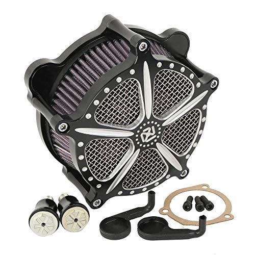 Motorrad modifizierte Einlassfilter Luftfilter Luftfilter für Harley Dyna Softail Touring Fat Boy Electra Glide Road King