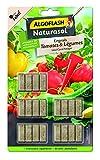 ALGOFLASH NATURASOL Bâtonnets Engrais Tomates et Légumes, Plantoir inclus, 20...