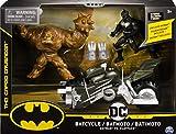 DC Comics Batman - 6055934 - Pack Batmoto + 2 figurines 10 cm - Jeu jouet enfant - Modèle...