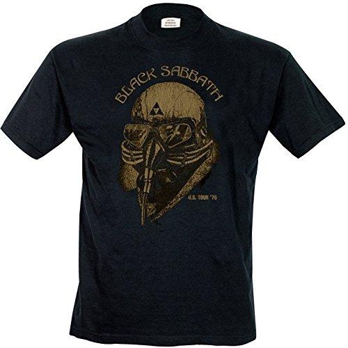 Black Sabbath - T-Shirt Homme, Noir, L