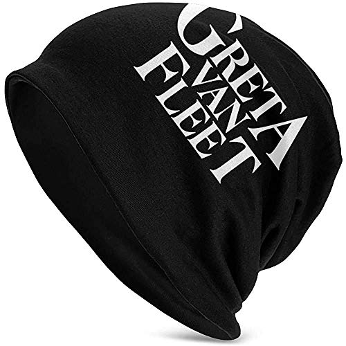 Greta Van Fleet Fashion Adult Knit Hat Unisex Casual Hedging Cap para Hombres Mujeres Otoño Invierno-3H-9EM