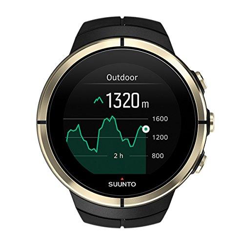Suunto - Spartan Ultra Gold HR - SS023303000 - Reloj Multideporte GPS + Cinturón de frecuencia cardiaca (Talla M) - Talla única - Edición especial GOLD