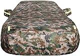 Housse de voiture Housse de protection compatible avec Chevrolet Camaro Car Cover Car Bâche Car Cover antipluie Isolation voiture protection solaire Thickening Couverture (couleur, vert armée), vert a