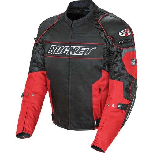 Joe Rocket Resistor Men's Mesh Motorcycle Jacket (Yellow/Black, X-Large)
