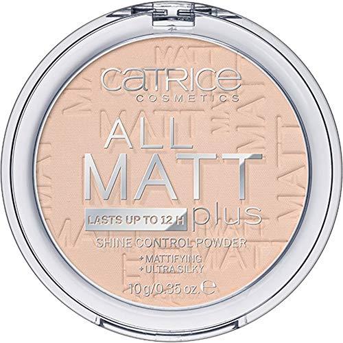 Catrice All Matt Plus Shine Control Powder 010 Transparent - 3er Pack